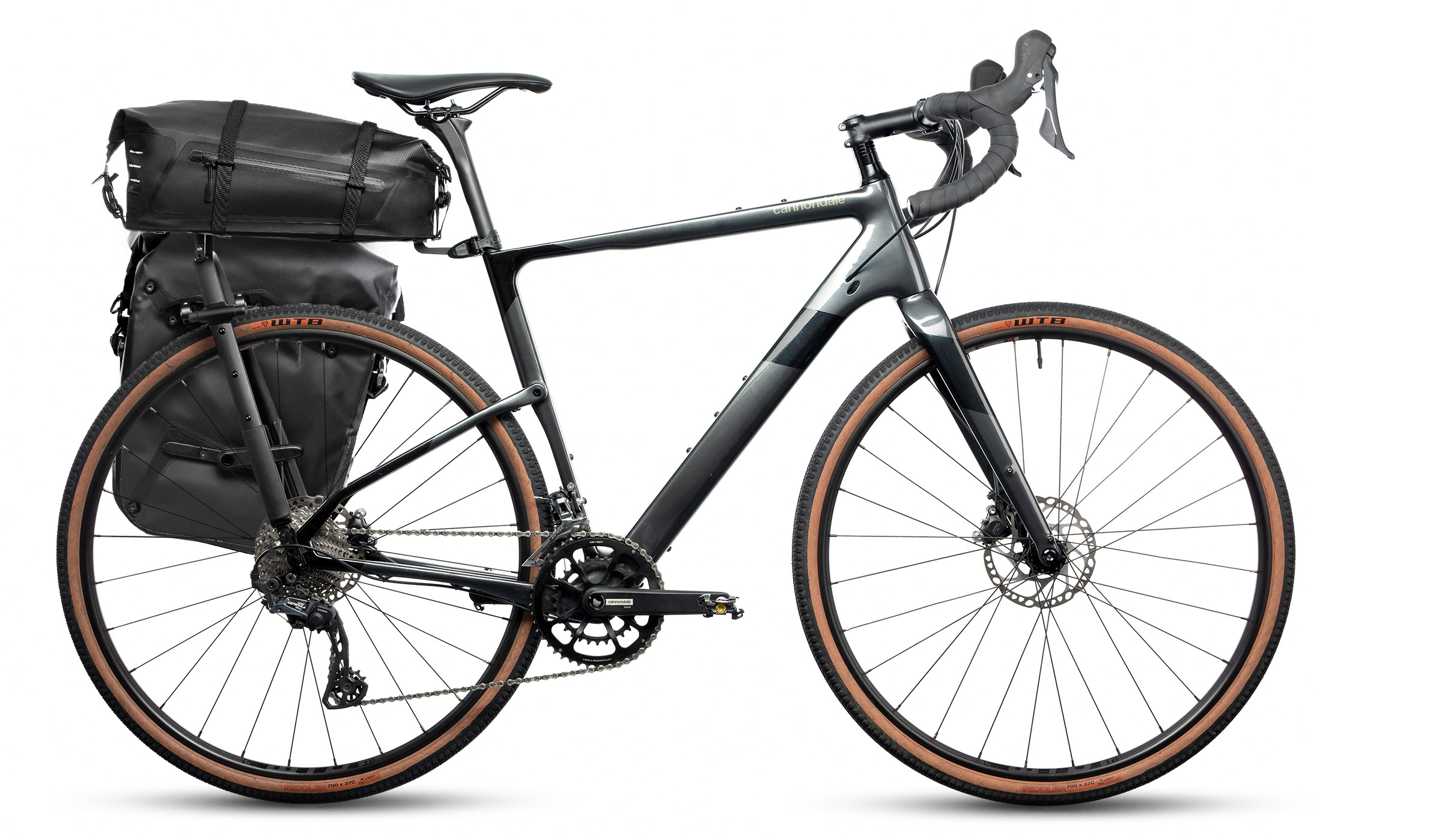 rack with pannier