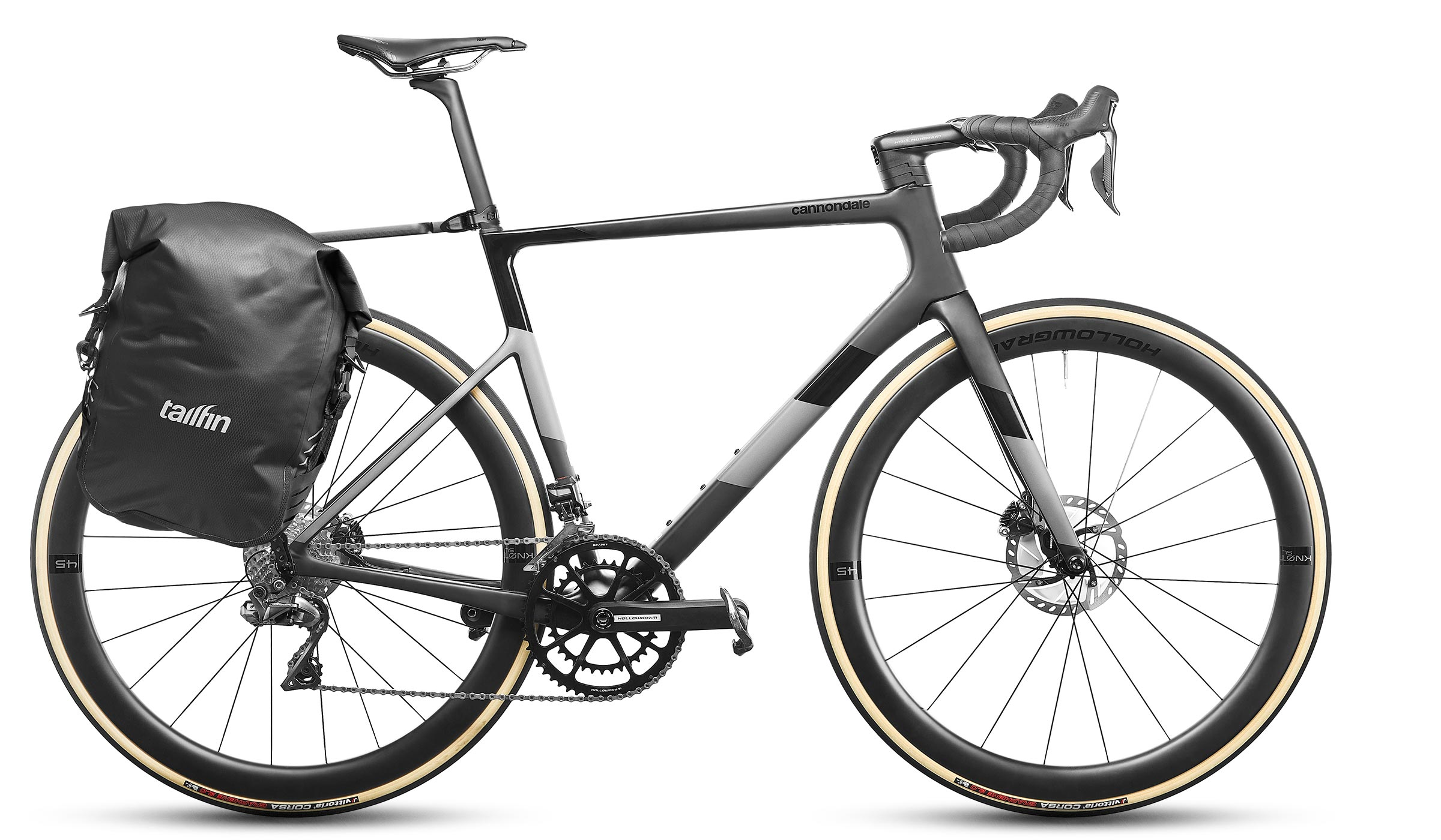 carbon rack with side pannier
